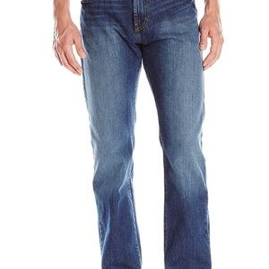 Nautica Mens Relaxed blue jeans